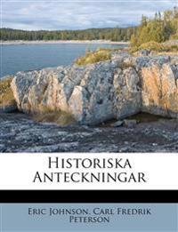 Historiska Anteckningar