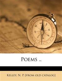 Poems ..