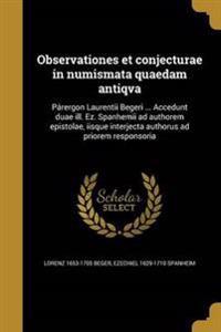 LAT-OBSERVATIONES ET CONJECTUR