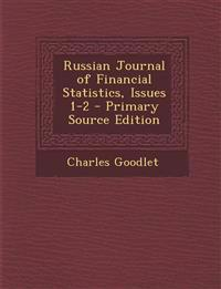 Russian Journal of Financial Statistics, Issues 1-2