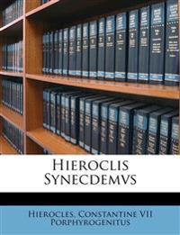 Hieroclis Synecdemvs