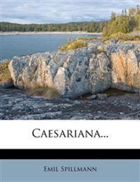 Caesariana...