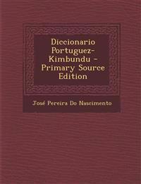 Diccionario Portuguez-Kimbundu