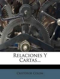 Relaciones Y Cartas...