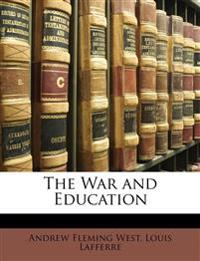 The War and Education