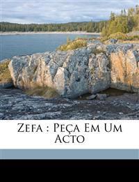 Zefa : peça em um acto