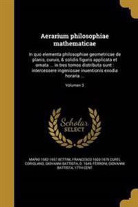 LAT-AERARIUM PHILOSOPHIAE MATH