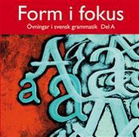 Form i fokus A datorprogram, licens för en dator