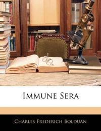 Immune Sera