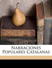 Narraciones populares catalanas