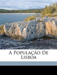 A população de Lisboa