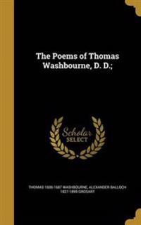 POEMS OF THOMAS WASHBOURNE D D