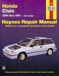Honda Civic Automotive Repair Manual, 1984-1991