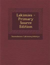 Lakimies - Primary Source Edition