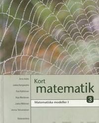 Kort matematik kurs 3 Matematiska modeller 1