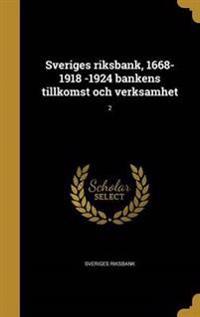 SWE-SVERIGES RIKSBANK 1668-191