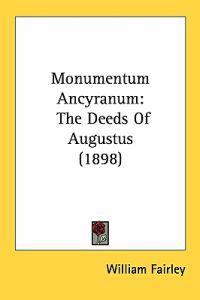 Monumentum Ancyranum
