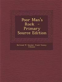 Poor Man's Rock