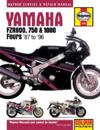 Yamaha Fzr600, 750 and 1000 Fours 87-96