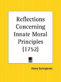 Reflections Concerning Innate Moral Principles (1752)