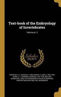 TEXT-BK OF THE EMBRYOLOGY OF I
