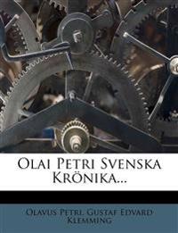 Olai Petri Svenska Krönika...