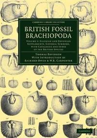 British Fossil Brachiopoda 6 Volume Set British Fossil Brachiopoda