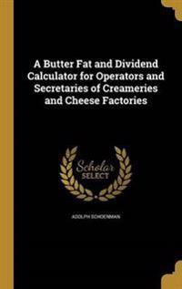 BUTTER FAT & DIVIDEND CALCULAT
