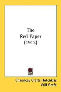 The Red Paper