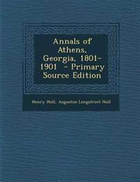 Annals of Athens, Georgia, 1801-1901