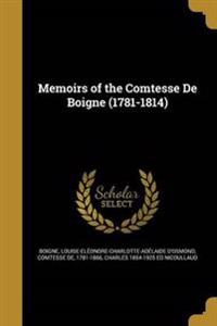 MEMOIRS OF THE COMTESSE DE BOI