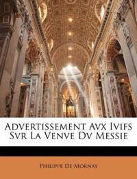 Advertissement Avx Ivifs Svr La Venve Dv Messie