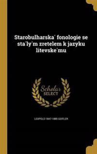 CZE-STAROBULHARSKA FONOLOGIE S
