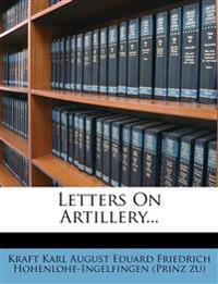 Letters On Artillery...