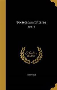 GER-SOCIETATUM LITTERAE BAND 7