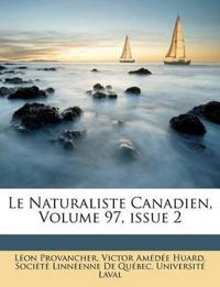 Le Naturaliste Canadien, Volume 97, Issue 2