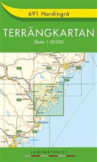 691 Nordingrå Terrängkartan : 1:50000