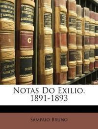 Notas Do Exilio, 1891-1893