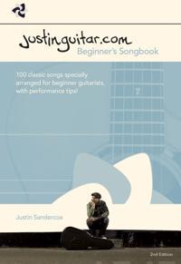 Justinguitar.com beginners songbook - 2nd edition (spiral bound)