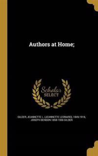 AUTHORS AT HOME