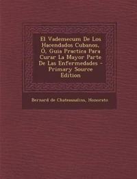 El Vademecum de Los Hacendados Cubanos, O, Guia Practica Para Curar La Mayor Parte de Las Enfermedades - Primary Source Edition