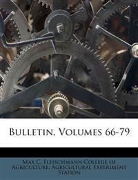 Bulletin, Volumes 66-79