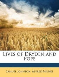 Lives of Dryden and Pope
