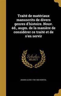 FRE-TRAITE DE MATERIAUX MANUSC