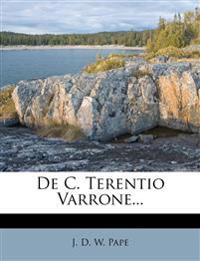 de C. Terentio Varrone...
