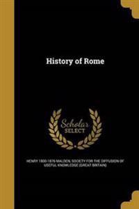 HIST OF ROME