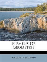 Elemens De Geometrie