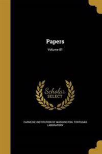 PAPERS VOLUME 01