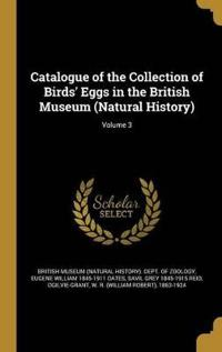 CATALOGUE OF THE COLL OF BIRDS