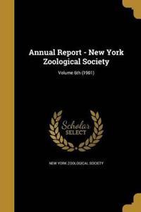 ANNUAL REPORT - NEW YORK ZOOLO